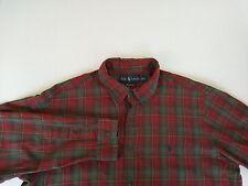 Polo Ralph Lauren Custom Fit Men's Long Sleeve Button Front Shirt Size XL