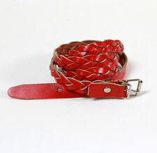 ceinture cuir vintage rouge en vente   eBay cb7a4b056cd