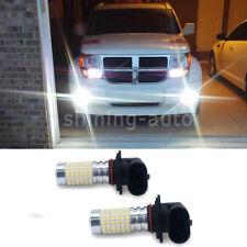 2x 2800lm 9006 HB4 144 piece LED Fog Light Bulb DRL 6000K White for Subaru Lexus