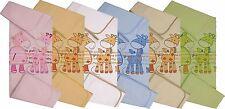 Baby / Kinderdecke 100% Baumwolle 80 x 90 cm leichte Sommerdecke