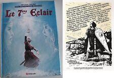 GODEFROID DE BOUILLON - CAYMAN & RAPPE - LES CHEVALIERS MAUDITS T1 (EO1995) + EL