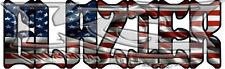 American Flag Glazier Decal/Sticker FREE SHIPPING!!