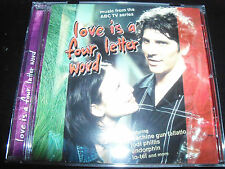 Love Is A Four Letter Word Soundtrack CD Ft Sunk Loto Pre-shrunk Whitlams & More