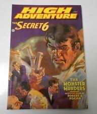 HIGH ADVENTURE #58 VF/NM Secret 6 Monster Murders ADV HOUSE Pulp Reprint