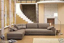Design Voll-Leder Ecksofa Sofa Garnitur Eckgruppe Couch Ledersofa 5042-L
