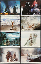 THE EMPIRE STRIKES BACK original 1980 NSS 11x14 GLOSSY lobby card set MINT!!
