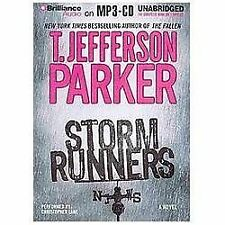 Storm Runners by T. Jefferson Parker (2013, MP3 CD, Unabridged)