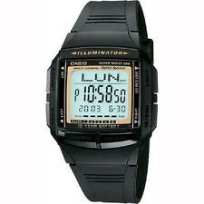 Casio DB-36-9AV Telememo Black Digital Watch with Casio Box Included