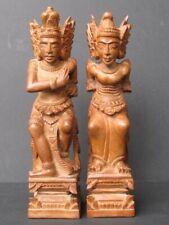 Couple en Bois sculpté, BALI
