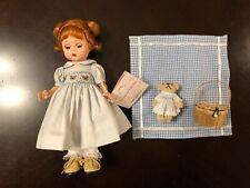 "New ListingMadame Alexander 8"" Picnic Time For Teddy Bear 34080 In Box - No Reserve!"
