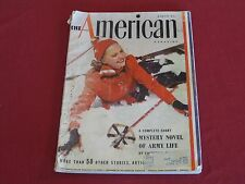 """1941 The American Magazine WWII """"The Army""""s War Against Vice"""", Ads, Articles"""