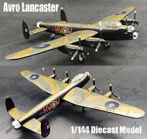 British Avro Lancaster MK III Heavy Bomber 1:144 diecast Aircraft plane Model