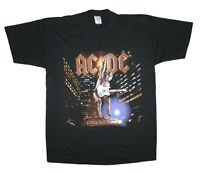 AC/DC Euromap Mens Black T Shirt New Official Adult