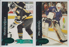 1992-93 PARKHURST EMERALD ICE #1-188 PARALLEL STARS ROOKIE RC FINISH SET U PICK
