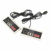 2 PCS Game Controller Gamepad For Classic Mini Vintage Retro TV Game Console USA