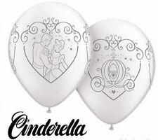 "New Qualatex 25 Round 11"" Cinderella & Prince Charming Wedding Balloons Disney"