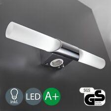 B.K.Licht LED Wand-Lampe Bad Spiegel-Leuchte mit Steckdose Badezimmerwandleuchte