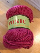 JoJoLand TONIC Yarn Acrylic/Wool blend  DK weight  220yds/100g Color #AW144 Rose