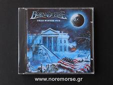 BORN OF FIRE - DEAD WINTER SUN +Video, CD Pure Steel 2014 US METAL NEW SEALED