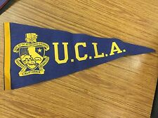 Vintage Ucla Pennant Bruins 1960s Original Tag University California Los Angeles