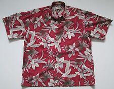 """VINTAGE Da Uomo Hipster camicia hawaiana Crazy/Tropicale/DANZA XL 52""""-132cm (749a)"""
