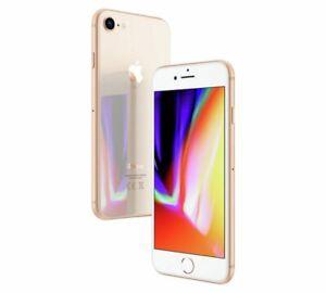Brand New Apple iPhone 8 A1905- 64GB - Unlocked Smartphone - Gold - Bargain!