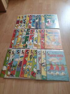 Micky Maus  1961  50 Hefte  Ehapa Verlag