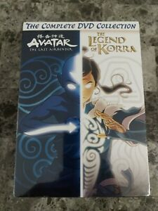 Avatar And Legend Of Korra Complete Series Collection (DVD) New