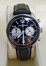 Automatic Bell & Ross Vintage 126 Stainless Steel Adjustable Watch
