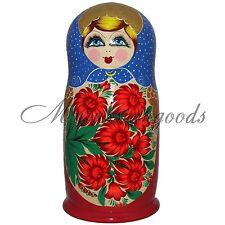 Rusas Matryoshka Nesting Doll 50 Pc 22 Pulgadas Mejor Precio 50pc Flores Muñeca