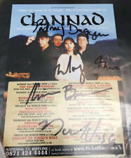 More details for clannad- signed tour flyer