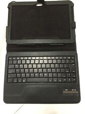 "Galaxy Tablet Bluetooth Detachable Keyboard Case Fits 10.1"" Screen"