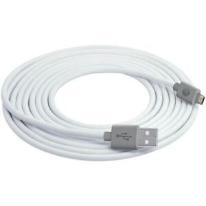 AT&T MC10-WHT Charge & Sync USB to Micro USB Cable, 10ft (White)