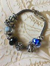 Authentic Trollbeads Bracelet with  11 Beads