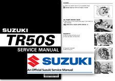 Suzuki TR50S STREET MAGIC Workshop Service Shop Manual TR50 S