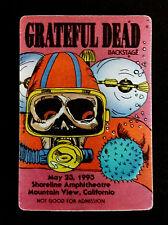 Grateful Dead Backstage Pass Scuba Diving Skeleton Dive Shoreline CA 5/23/1993