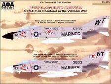 AOA Decals 1/32 F-4J PHANTOM II IN VIETNAM WAR VMFA-232 RED DEVILS