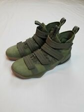 Nike Men's Lebron James Soldier 11 XI Olive Camo 897646-200 Size 11 NWOB