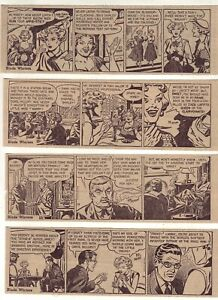 Blade Winters by Ed Mann - 27 daily comic strips - Complete July 1952
