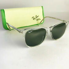 Vintage Ray Ban USA B&L TRADITIONALS Sunglasses clear round wayfarer gatsby