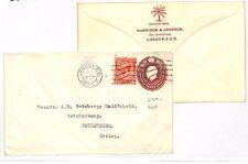 LL212 1933 GB STATIONERY 'Cut-Out' Palm Tree Trademark STO x 2 {samwells-covers}
