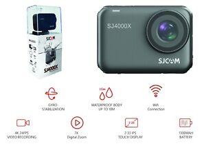 SJCAM SJ4000X Action Camera Waterproof Body 12MP 4k/24FPS Touch Screen- Warranty
