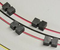TYCO HO Slot Car Parts - Tyco 440x2 North & South Zapped Ceramic Traction Mags