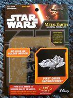 New Star Wars Metal Earth Kit First Order Snowspeeder Metal 3D Model Kit