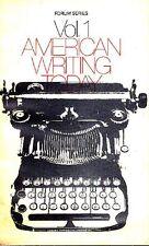 KOSTELANETZ Richard, American writing today