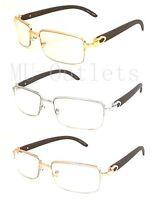 New Mens Womens Fashion Vintage Retro Clear Lens Frame Glasses Optical RX (8028)