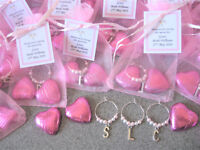 Chocolates & Charm - Personalised Hen Party / Hen Night - Gift / Favour