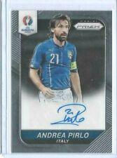 Andrea Pirlo Italy 2016 Panini Prizm UEFA Euro Auto Signed #S-AP