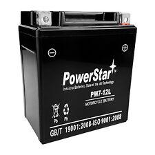 STX7L-BS PowerStar Battery - Replaces: YTX7L-BS, PTX7LBS, XTAX7L, GTX7L-BS