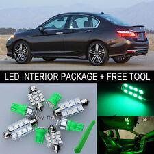 Green LED Interior Package Light Bulb 12X Kit For 98 2002 Honda Accord + Tool J